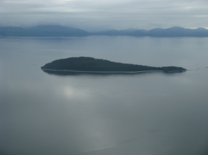 Doesn't that island look like a fish?